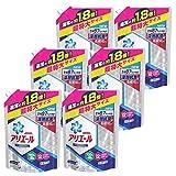 【ケース販売】 アリエール 洗濯洗剤 液体 イオンパワージェルサイエンスプラス詰め替え 超特大1.26kg×6個