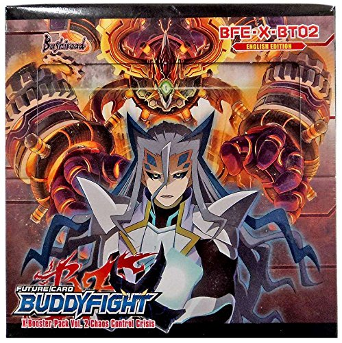 バディファイトTCGカードゲーム'カオスコントロールの危機'ブースターボックス30パック。bfe-x-bt02英語