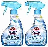 【まとめ買い】 バスマジックリン 浴室洗剤 泡立ちスプレー 防カビプラス 本体 380ml × 2個