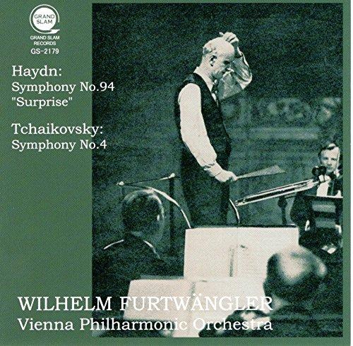 ハイドン : 交響曲 第94番 「驚愕」 | チャイコフスキー : 交響曲 第4番 (Haydn : Symphony No.94 ''Surprise'' | Tchaikovsky : Symphony No.4 / Wilhelm Furtwangler | Vienna Philharmonic Orchestra) [CD]