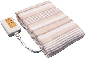 山善 電気敷毛布(140×80cm) ブラウン YMS-13(T)