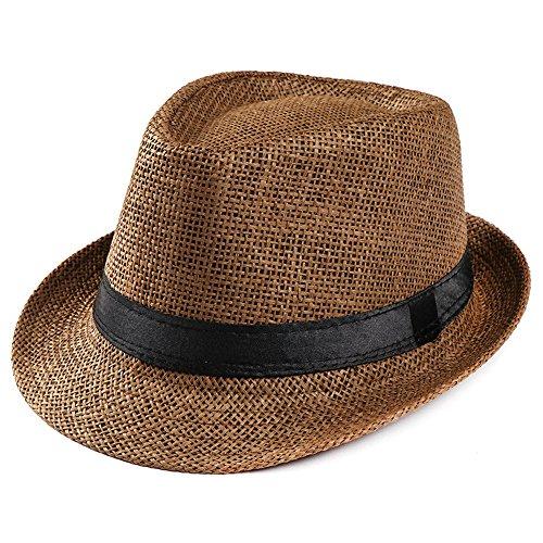 キャップ 帽子 Dafanet ストローハット メンズ 大き...
