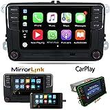 "6.5"" Car Radio Stereo OEM MIB2 RCD360 330 Carplay Mirrorlink RVC BT SD-Card Touchscreen Memory Card Input Car Navigator for V"