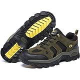 [ziitop] ハイキングシューズ メンズ レディース 登山靴 アウトドア 防滑 耐摩耗性 通気性 防水 衝突 (23…
