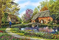 Educa Meadow Cottages Puzzle (5000 Piece), One Color by Educa [並行輸入品]
