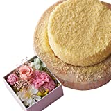 ルタオ (LeTAO) チーズケーキ 母の日ギフト~キューブ~ ドゥーブルフロマージュとカーネーション&バラ 直径12cm