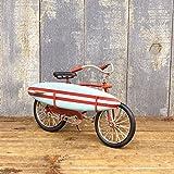 グッドオールド[Surf Bicycle] ブリキおもちゃ アンティーク アメリカ雑貨 ガレージグッズ 置物 オブジェ 店舗 オールドアメリカン