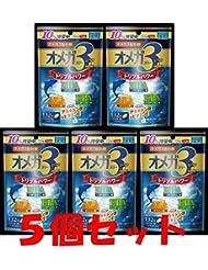 【5個セット】オメガスリープラス 120粒+12粒