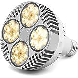 35W LED Grow Light Bulb, Grow Lights for Indoor Plants, CANAGROW E26 Full Spectrum Plant Grow Light Bulb, Growing Light Lamps