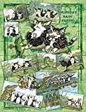 300ピース ジグソーパズル プチ2ライト 猫のダヤン 雨の木曜パーティ(16.5x21.5cm)