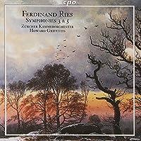 F.リース:交響曲第3番/5番