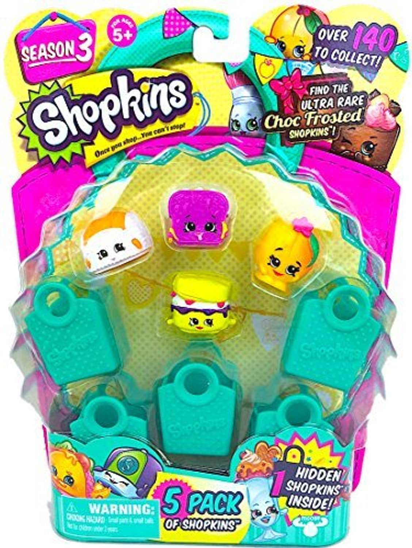 Shopkins Season 3 (5 Pack) Set 15 by Moose Toys [並行輸入品]