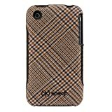 speck iPhone 3G Fitted Tan Houndstooth Plaid IPH 3G-FTD-PLDBR