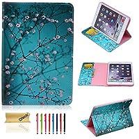 iPad Mini 4ケース、Dteck ( TM ) Cartoon Cuteパターン[傷防止]フォリオPUレザーケース[カードスロット]スマートスタンドフルボディ保護ケース付きApple iPad Mini 4 5025398