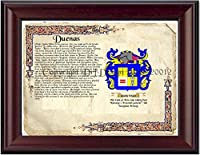 Duenas Coat of Arms / Family Crest on Fine Paper and Family履歴