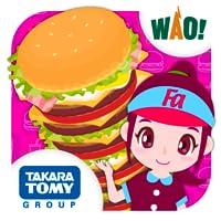 ハンバーガーをつくろう ファミリーアップスでおしごと体験!