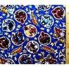 宇宙戦隊キュウレンジャー 4点(体操服袋・給食袋・弁当袋・コップ袋)が作れる材料セット R-33 (紺)#2 レシピ付き(ロープの色は青となります)<初心者でも簡単なキャラクター生地セットです!>