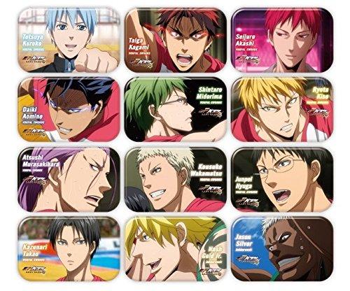 劇場版 黒子のバスケ LAST GAME まるかくカンバッジ7 12個入りBOX