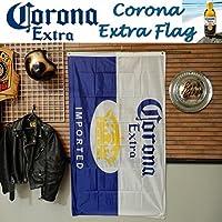 リアル・フラッグ 旗 Corona Extra Flag コロナビール タペストリー アメリカン雑貨 ガレージ インテリア
