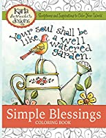 Simple Blessings Coloring Book: Scriptures and Inspirations to Color Your World