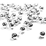 Jingle Bells for Crafts,iKammo 12mm Small Bells DIY Bells Christmas Crafts for DIY Bracelet Anklets Necklace Knitting/Jewelry
