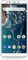 Xiaomi Mi A2 64GB + 4GB RAM, Dual Camera, LTE AndroidOne Smartphone - International Global Version (Blue)