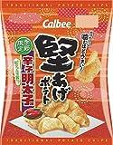 カルビー 堅あげポテト 辛子明太子味 60g×12袋