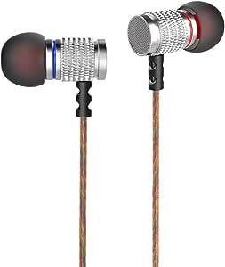 Audiosharp カナル型 イヤホン 3.5mmステレオミニプラグ 遮音 マイク 付き ヘッドフォン AS1218BL