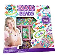 5000 Beads Jewellery Making Design Kit Ages 6+