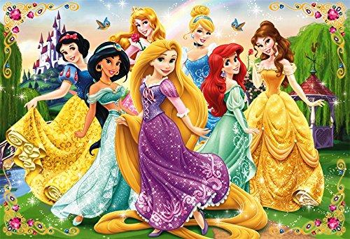 [해외]40 조각 어린이 퍼즐 디즈니 공주 웃는 얼굴로 마중 어린이 퍼즐/40 Piece Children`s Puzzle Disney Princess with Egao Children`s Jigsaw Puzzle