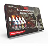 Dungeons and Dragons Nolzur's Marvelous Pigments Underdark Paint Set, The Army Painter 10 Acrylic Paints Roleplaying, Boardga