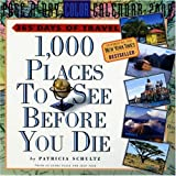 1,000 Places to See Before You Die 2008 Calendar (日めくり)