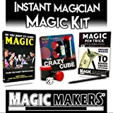 Magic Makers Instant Magician Magic Kit, Everything You Need To Get Started