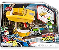 Disney Mickey & Roadster Racers Goofy Exclusive Transforming Pullback Racer [並行輸入品]