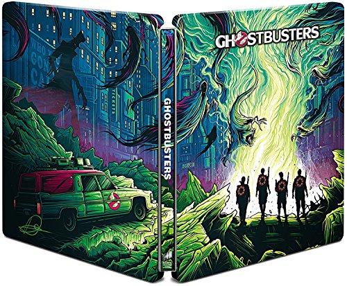 【Amazon.co.jp限定】ゴーストバスターズ ブルーレイ スチールブック仕様(初回生産限定)(Amazonロゴ柄CDペーパーケース付)[Steelbook] [Blu-ray]