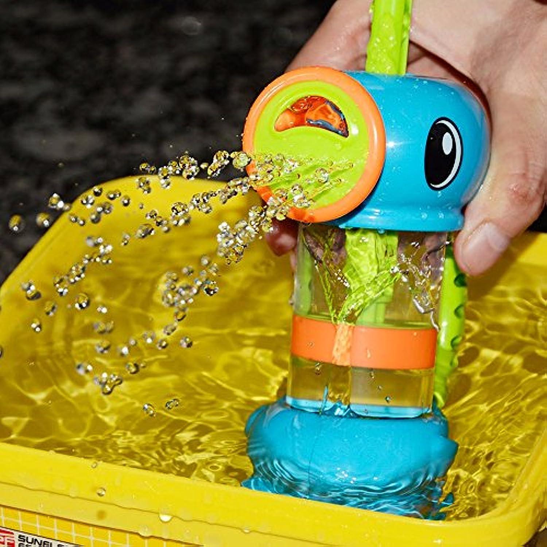 CN 本舗 かわいいアヒル水ポンプスプレーおもちゃ 夏休み 水遊び おもちゃ お風呂おもちゃ