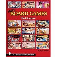 More Board Games (A Schiffer Book for Collectors)