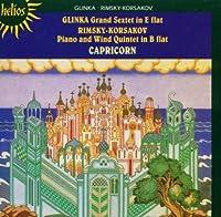 Glinka: Grand Sextet; Rimsky-Korsakov: Wind Quintet by Capricorn Ensemble (2004-04-13)