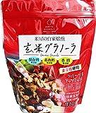幸福米穀 玄米グラノーラフルーツ&ナッツ 250g×3袋