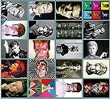 デヴィッド・ボウイ David Bowie PVCステッカー 20枚セット