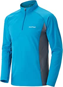 mont-bell(モンベル) クールロングスリーブジップシャツ Men's CNBL 1104930 (M)