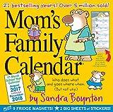 Mom's Family 17-Month 2017-2018 Calendar
