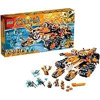 レゴ (LEGO) チーマ タイガー族の移動基地 70224
