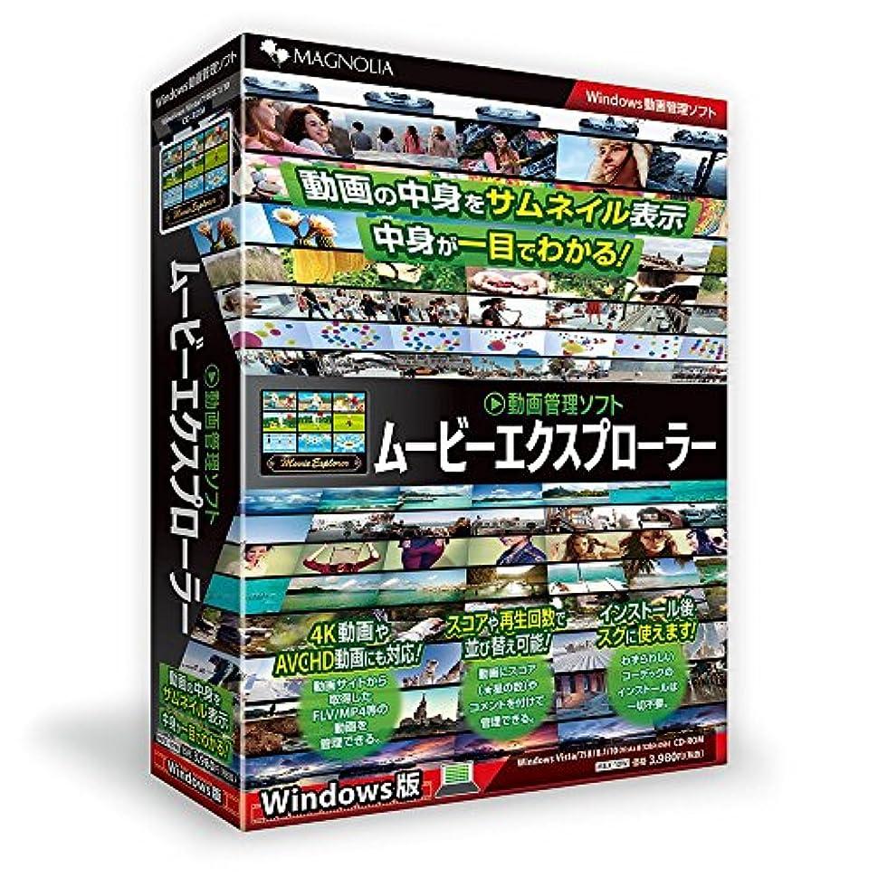 医療の相対的放棄された動画管理ソフト ムービーエクスプローラー Windows版