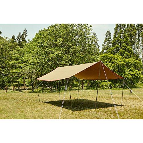tent-MarkDESIGNS(テンマクデザイン)『Takibi-TarpCottonSOLORecta』