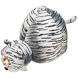 キャティーマン (CattyMan) もぐるみベッド ホワイトタイガー
