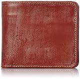 [グレンロイヤル] 二つ折り財布 HIP WALLET WITH DIVIDER 03-6171 TAN オックスフォードタン