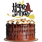 Magical Wizard Birthday Cake Topper Harry Happy Birthday Cake Topper Party Decoration Supplies