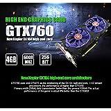 グラフィックカードGTX 7604G gddr5256bit DVI HDMI