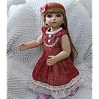 ブラウンヘアボールジョイントアクションフィギュア人形BathベビードレスUp人形Lovely Girl